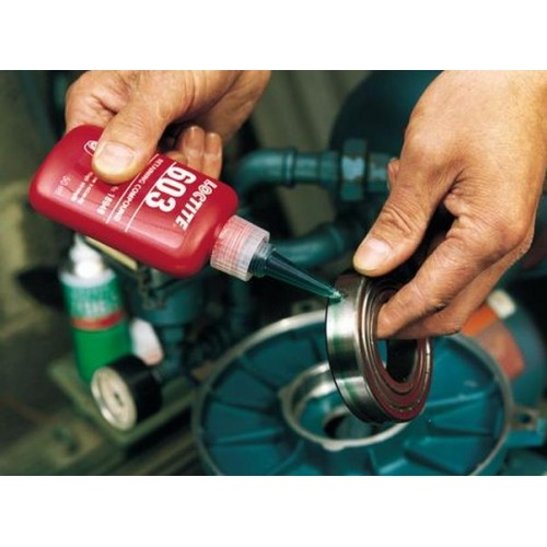 Loctite 603 High Strength Oil Tolerant Retaining Compound Green
