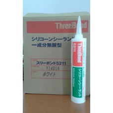 THREE BOND TB 5211 WHITE SILICONE SEALANT 330ML